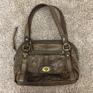 Fossil Long Live Vintage 1954 Leather Shoulder Bag